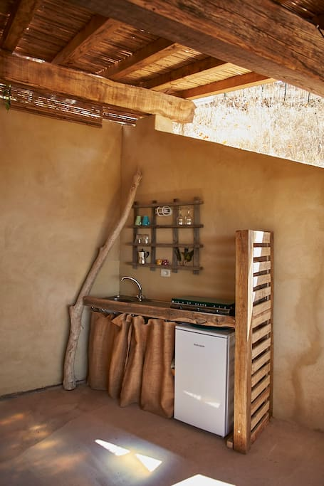 ... and kitchen