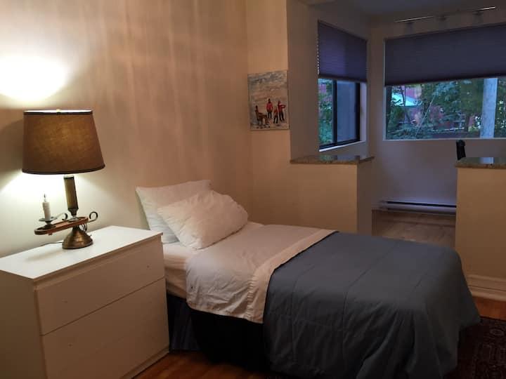 Homey room near metro,HEC,UdeM,Jewish Gen Hosp