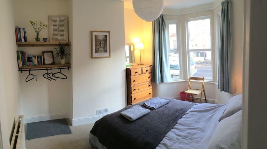 Comfy double room by Saint George's Park - Bristol - Rumah