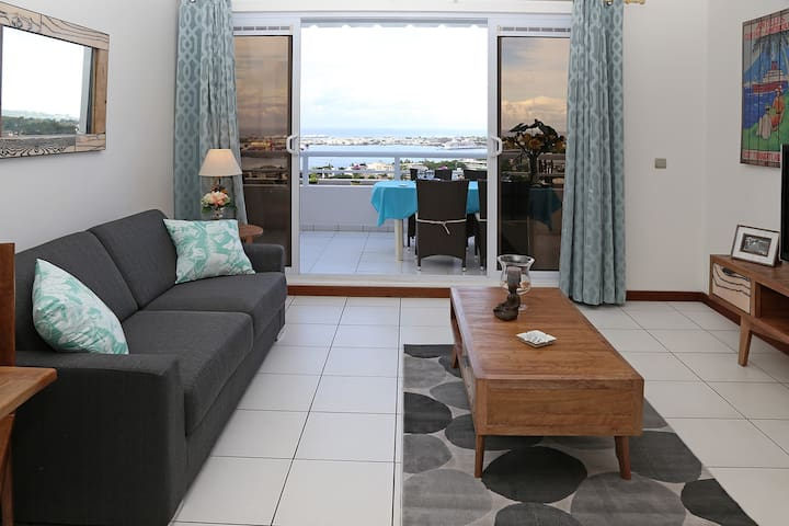 Exceptional  apartment on the heights of Papeete - Papeete - Departamento