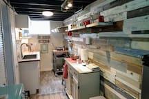Mini efficient kitchen