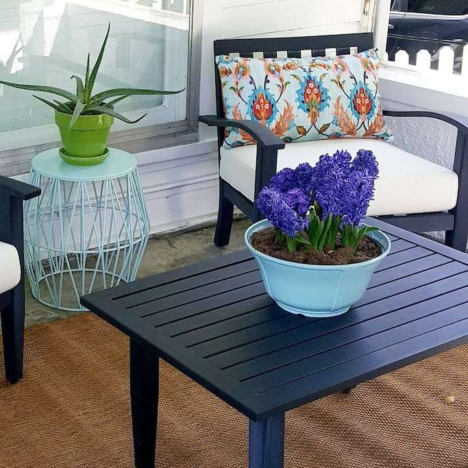 cute outdoor front porch