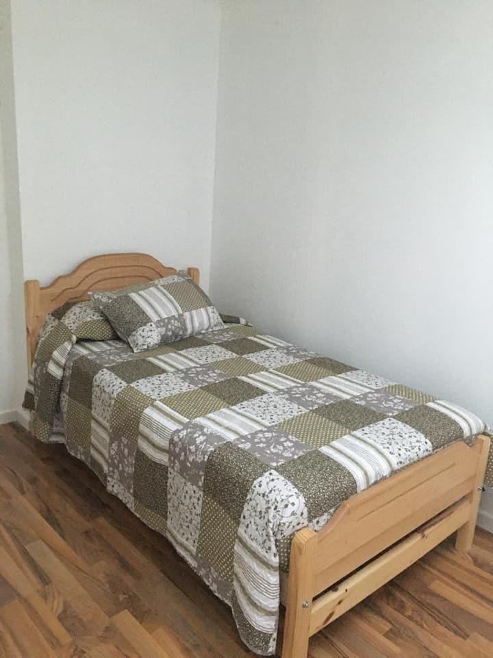 Habitación simple @miradaalpuerto 3
