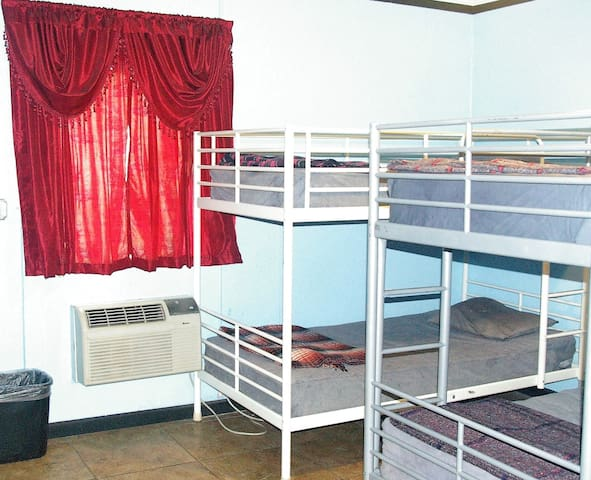 CHEAP WEEKLY RATE in 6-10 bed shared dormitory!