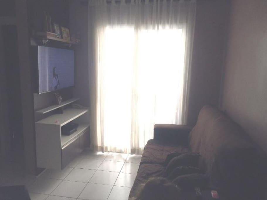 Sala com varanda