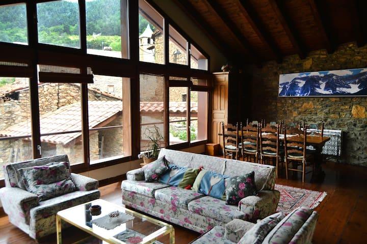 Casa rural con cocina y sauna - Paller del Pairot - Ansovell - Huis