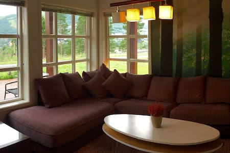 2BD Apt w sauna and a stunning view - House