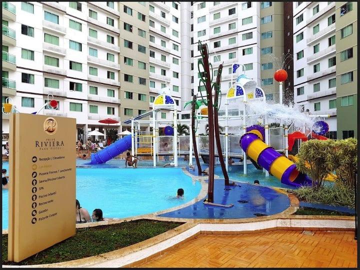 HOTEL  RIVIERA 14 piscinais - Flávia