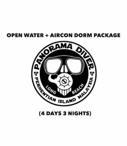 Open Water + Air-Con Dorm Package (4D 3N)