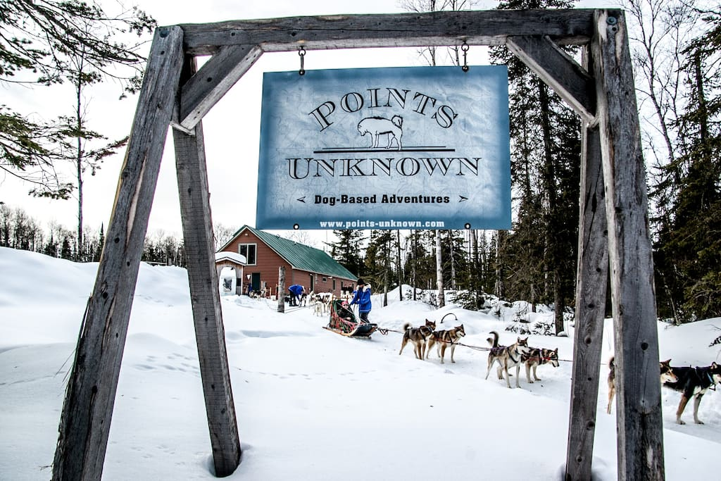 At the Points Unknown Guest Suite you can choose a dog sledding adventure in the fall and winter, immerse yourself in our off-grid lifestyle and/or you can passively enjoy the lifestyle as you visit other breathtaking natural sites in the area.