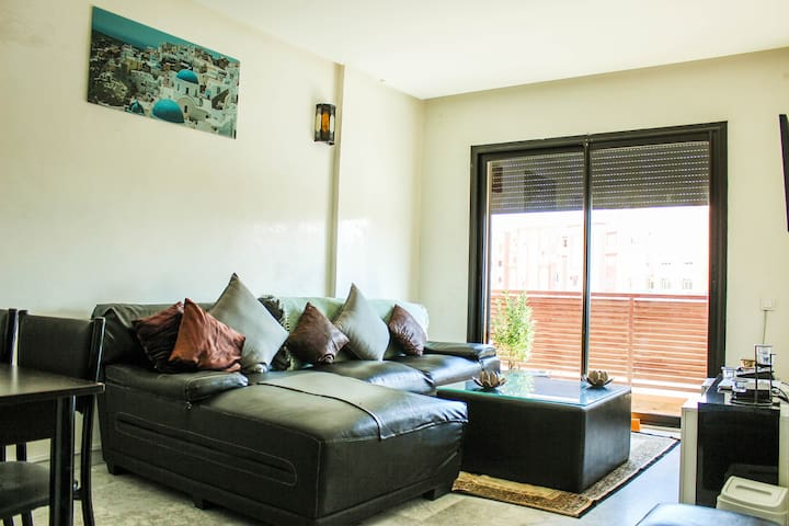 Spacious and bright appartment 2 bedrooms 70m2