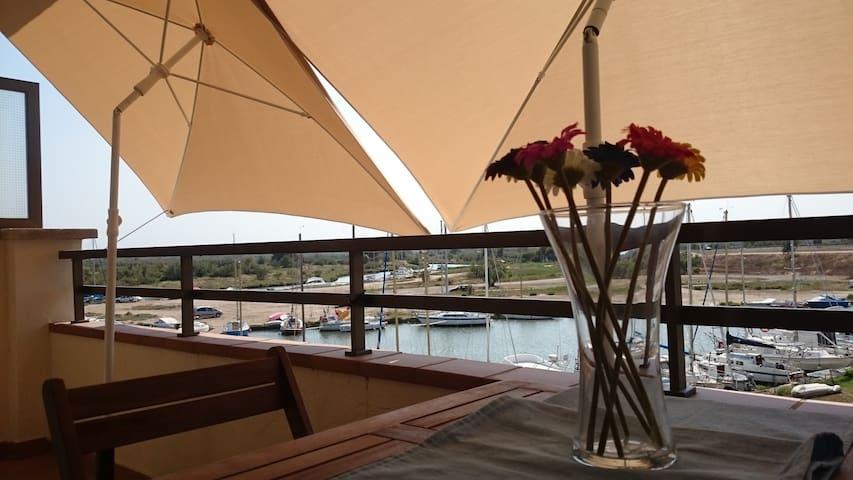 Estudio al lado de canal navegable y cerca playa - Roses - Flat