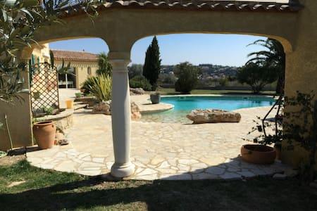 Belle villa moderne de charme - Magalas