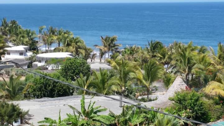 Habitación doble en Playa Las Pocitas, Máncora