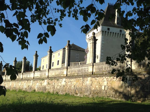 Chateau Gite in La Charente, France - Charras - Σπίτι