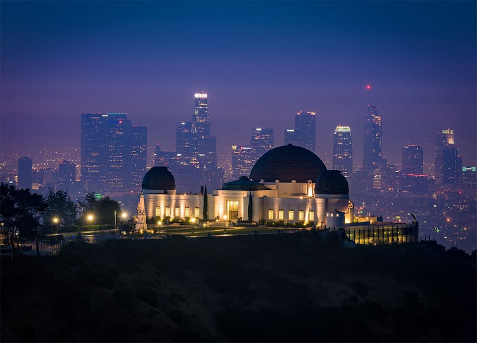 Walk to Griffith Observatory and the Hollywood sign