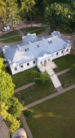 country-palace near Zamosc - Udrycze-Koniec - Castelo