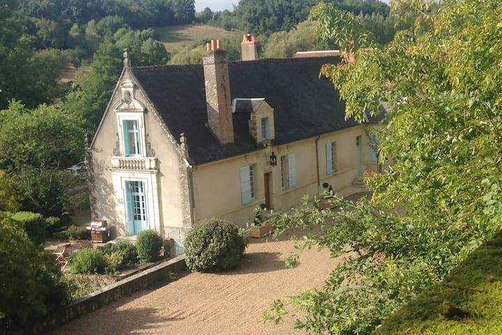 Luxury 17th Century Manoir near Amboise 7BR + pool