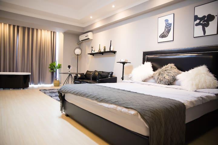 万达广场-沐舍公寓【时光】