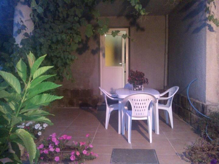 Appartement 50m²  terrasse privée  Rez de jardin