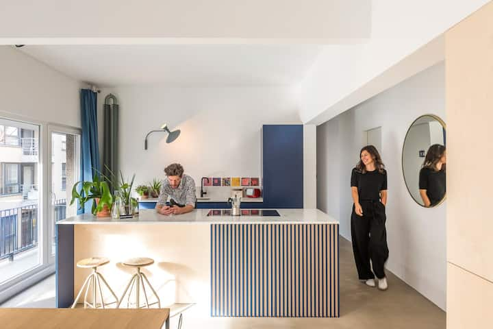Wolken & Zout : beautiful apartment by the sea!