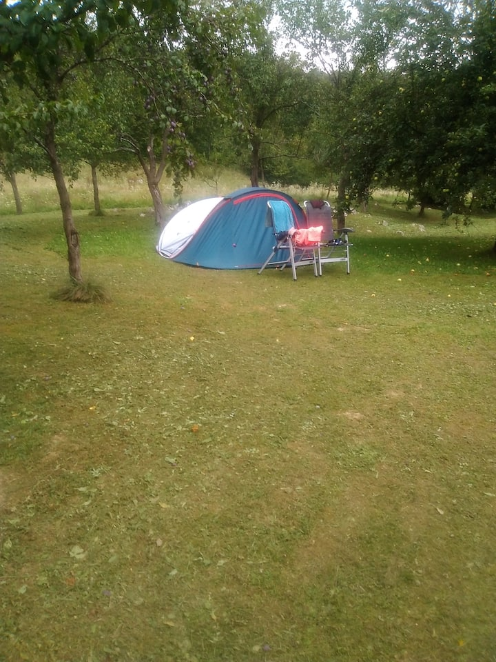 Camping place plitvice