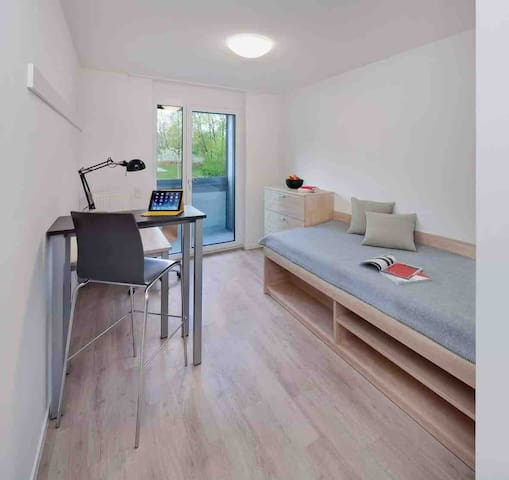 Modern studio Apartment for two