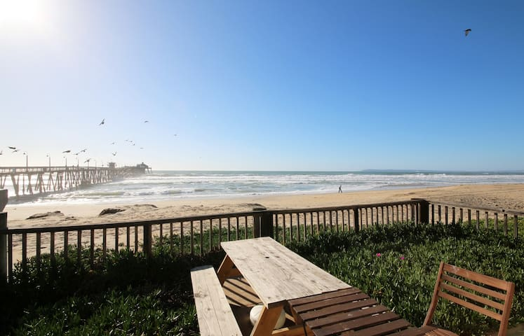 Beachfront House w/Views of Downtown San Diego - Imperial Beach - Dom