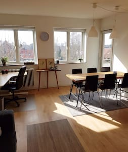 Lovely apartment with balcony - Herlev - 公寓