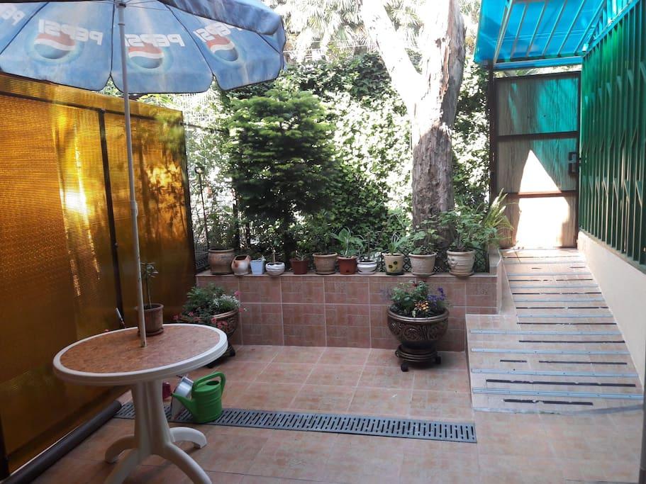 патио-внутренний дворик