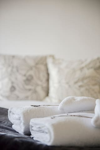 Fresh linen and towels supplies