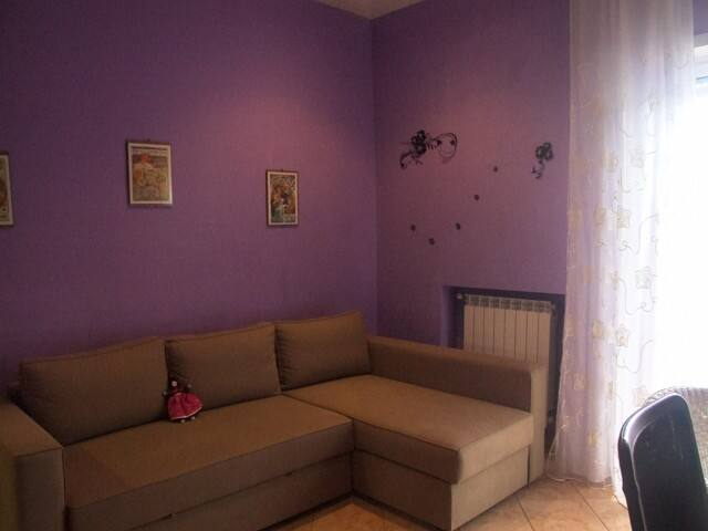 CAMERA CON DIVANO LETTO bedroom with sofa bed for two