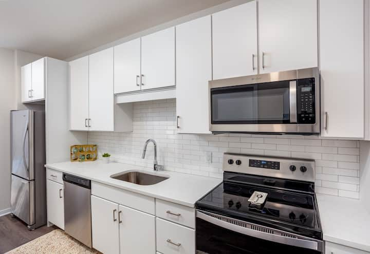 Entire 1-Bedroom at Westport's Newest & Best Bldng