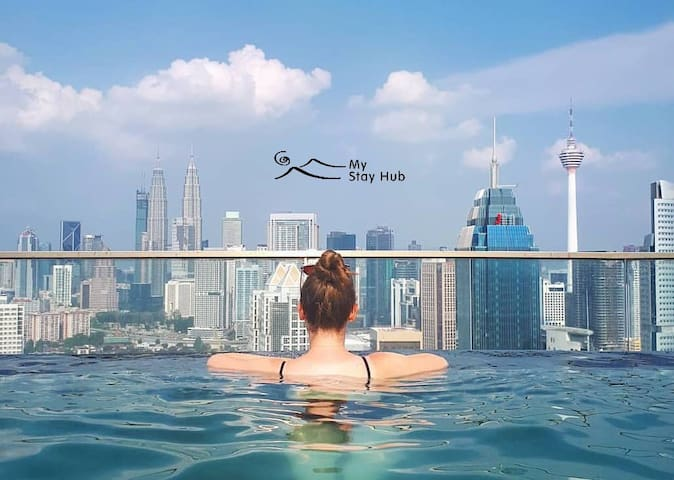 Studio Room with KLCC Infinity SKY Pool 吉隆坡天空泳池—套房