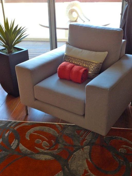 Your chair to relax and feel at home!