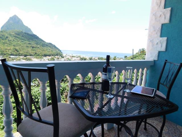Sapphire 3 - $1M Pitons, Ocean & Town Views!! Woww