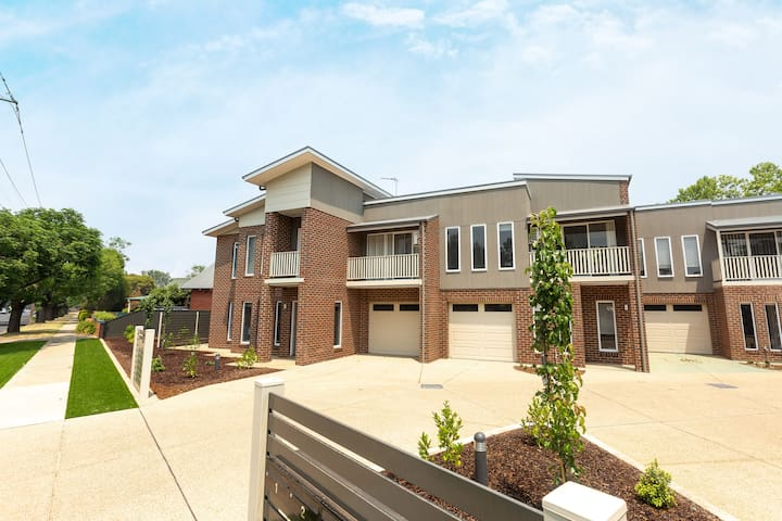 Private and BRAND NEW Townhouse in the CBD!