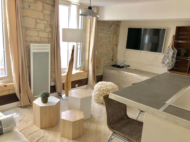 Studio de charme en hyper centre de Caen