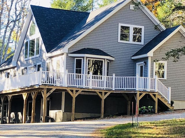 Brand new beautiful and private home in MDI