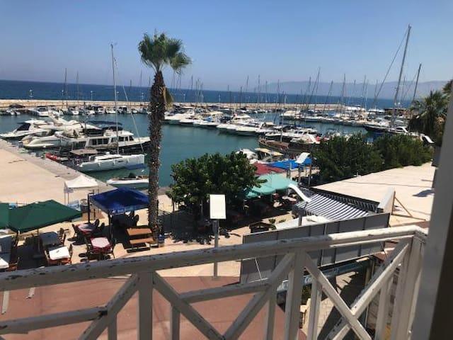 Latchi Plaza Apartment overlooking the Marina