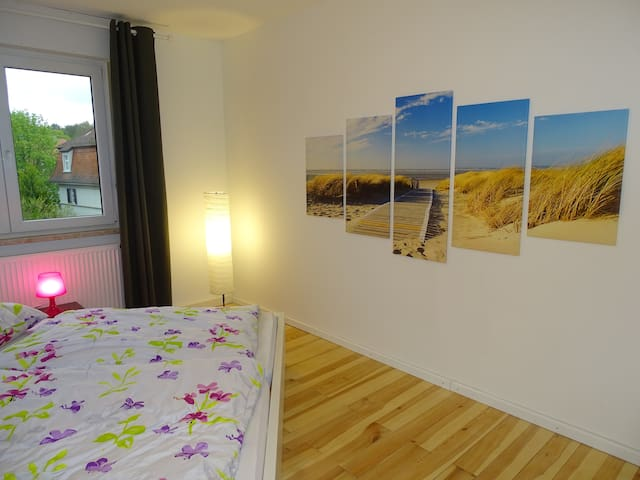 Great city apartment with balcony in a good loc. - Bamberg - Daire