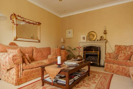 Private En suite double bedroom with drawing room - Killiney - Rumah