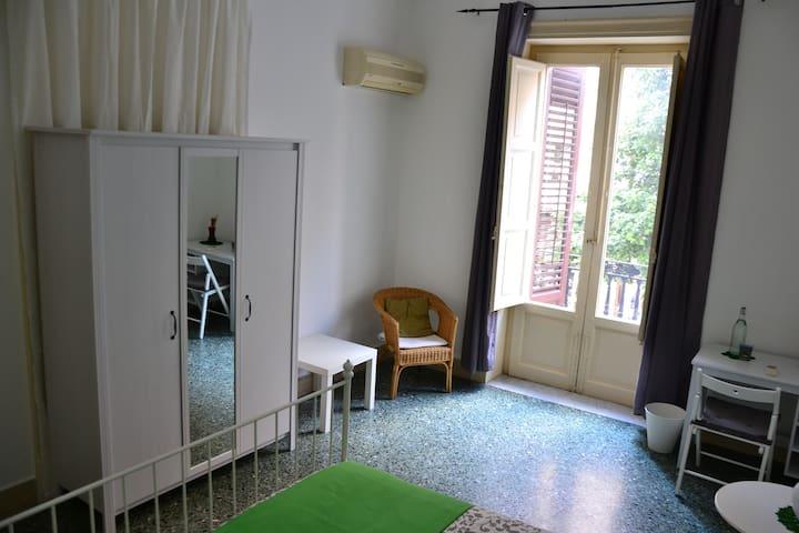 Il Lapino/limiuna virdi - stanza in centro storico