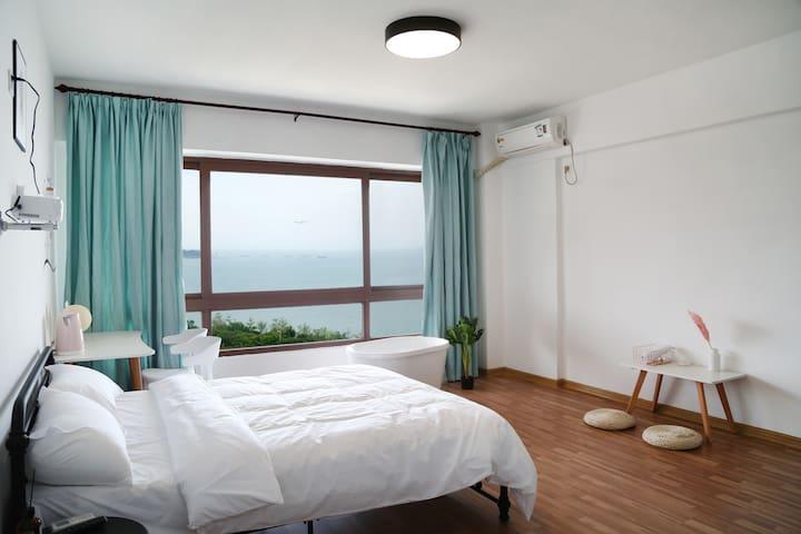 【一线海景】【五缘湾环岛路】北欧小资风公寓3