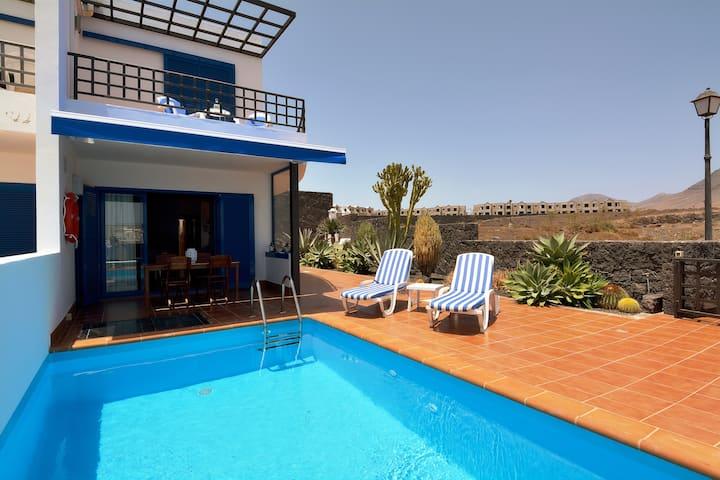 Villa Beach Lanz Private Pool Playa Blanca wifi