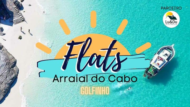 Flats Arraial do Cabo - GOLFINHO - Parceiro Lu&Du