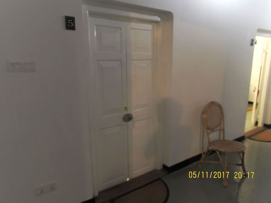 Entrance to Room via  corridor leading from Living Room (Bedroom 01 )
