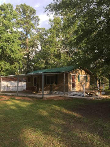 Gone fishing at toledo bend lake in pirates cove cabins for Fishing cabins in louisiana