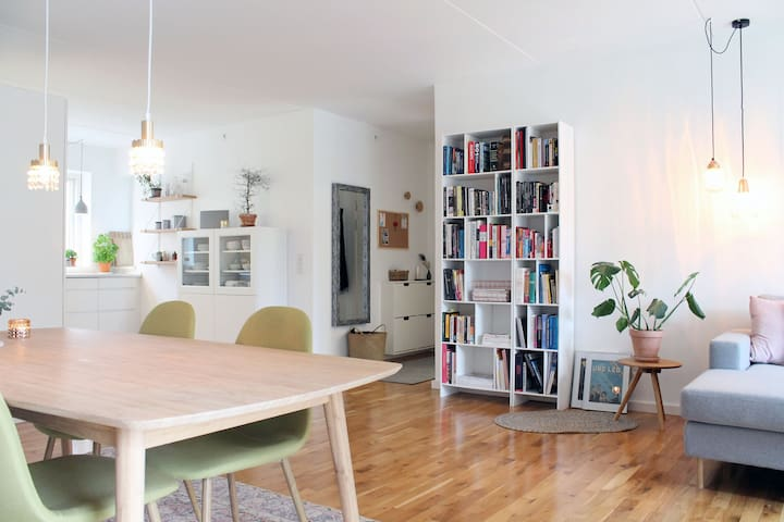 Private room in Scandinavian flat + portable WiFi - København - Apartment