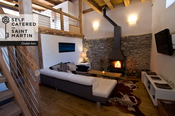 Chalet Ann - Luxury 5-bed chalet 1.5km from piste